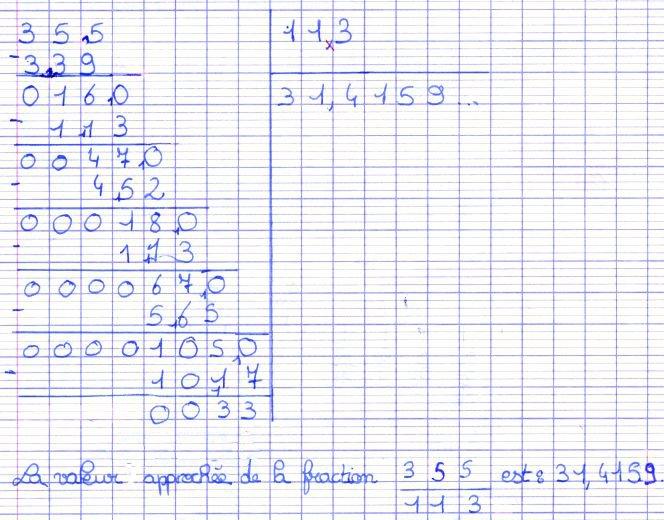divisions décimales 6ème